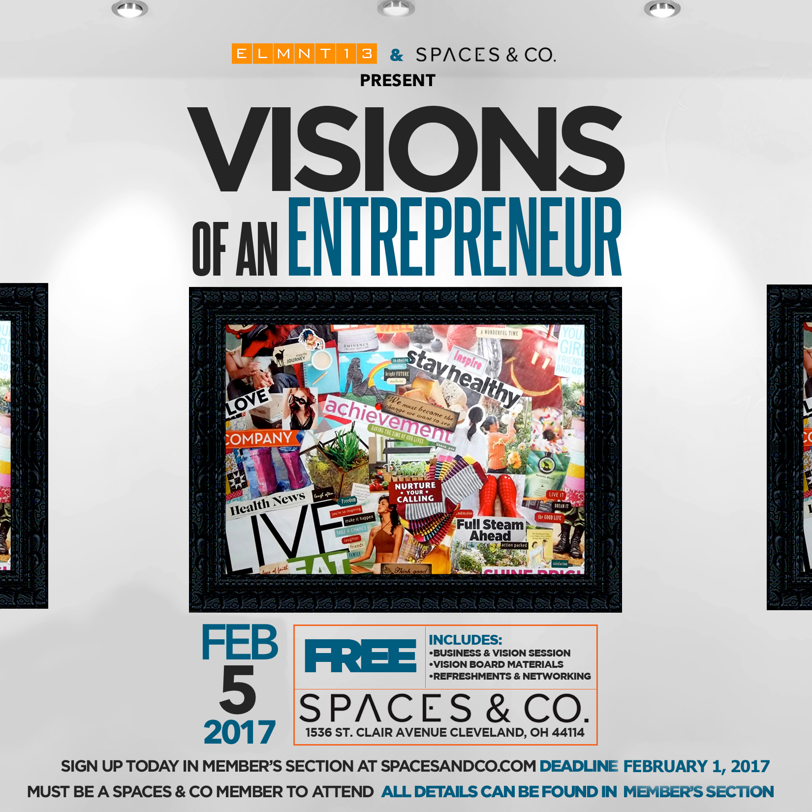 Sip&Dream '18 Vision Board Party at Hampton Inn & Suites ... |Events Vision Board